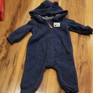 Fleece bear outfit